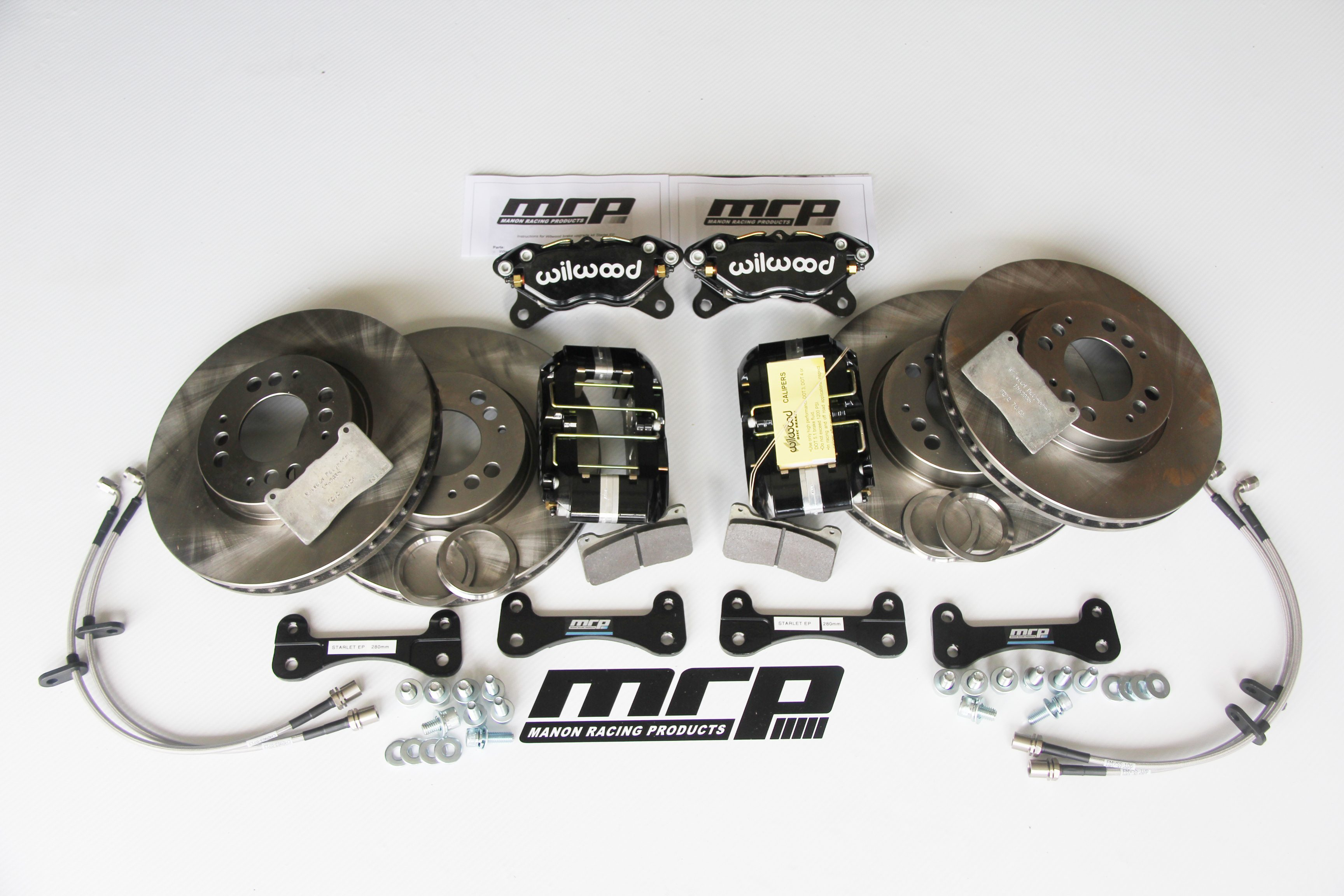Bmw E30 Front Big Brake Kit Manon Racing Products