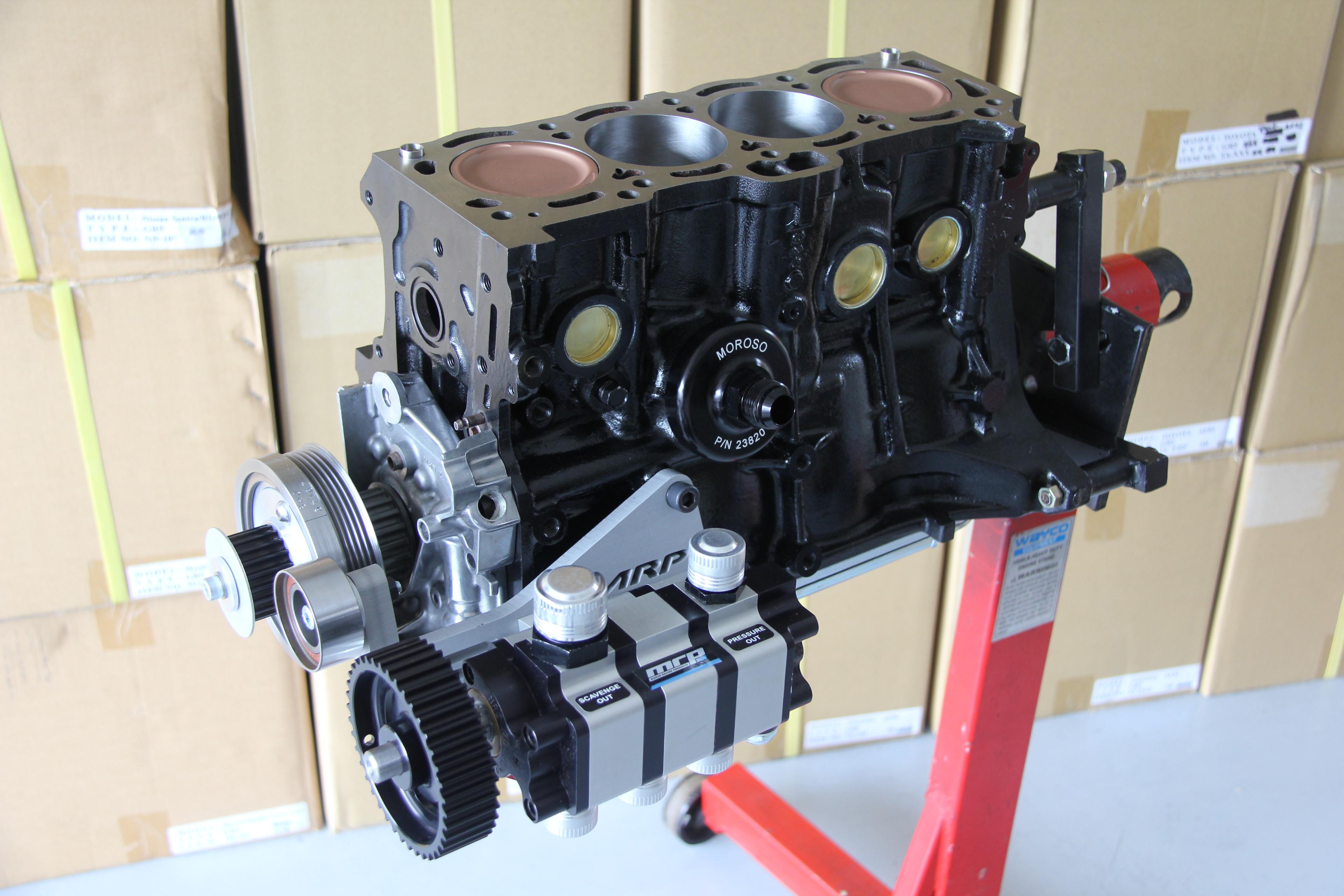 MRP 9AGE Engine Block